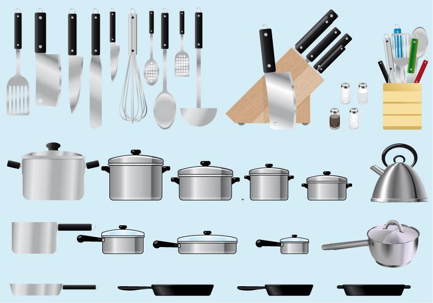 utensili un principe in cucina
